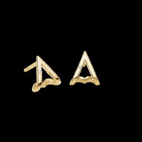 Guld ørepynt